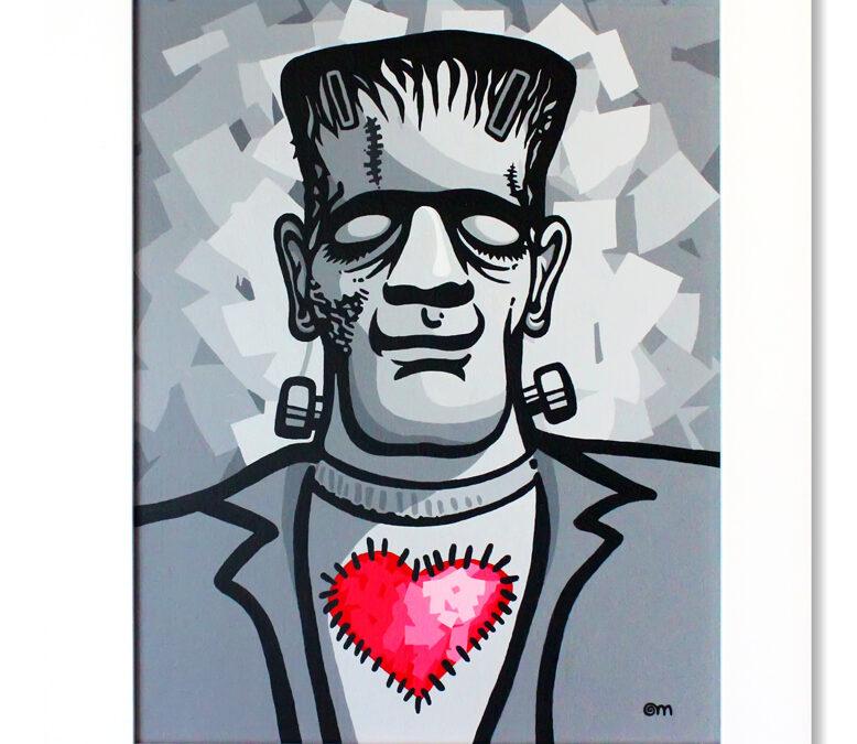 Pintura Acrílica s/ Tela – Frank in Love I