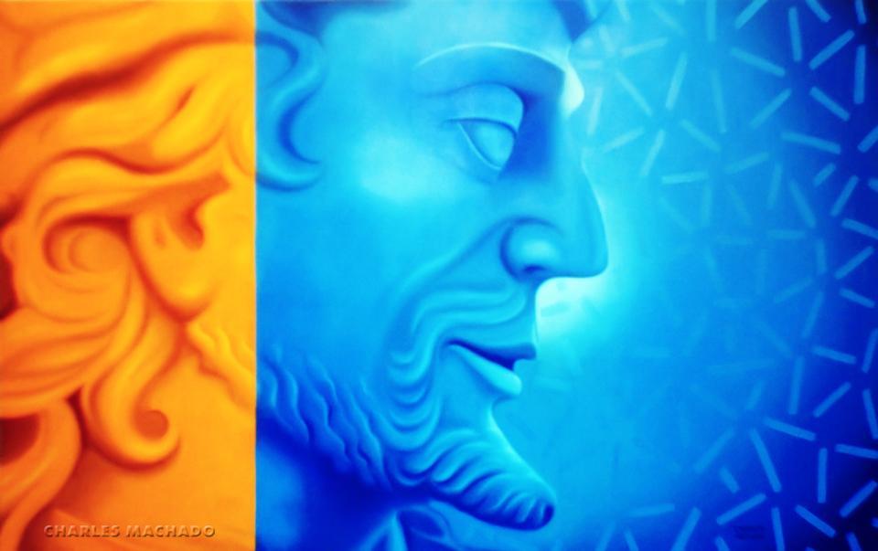 Pintura Óleo s/ Tela – Profeta Oséias – Releitura